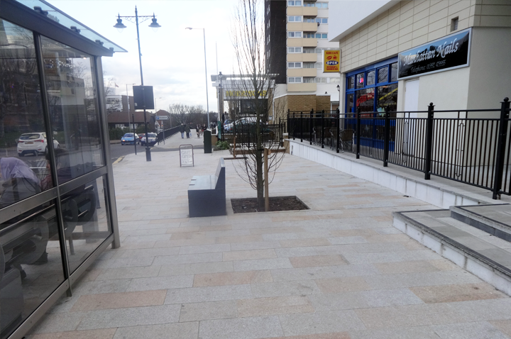 hoddesdon town centre inmprovement project carried out by TG RAM Ltd